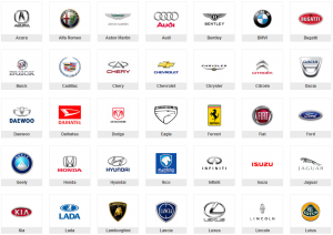 araba markaları logo oto çilingir